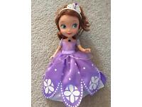 Talking Sofia the first doll toy Disney VGC