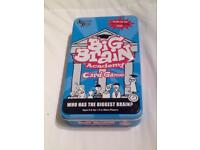 BIG BRAIN ACADEMY CARD GAME FROM UNIVERSITY GAMES. BASED ON NINTENDO DS GAME.