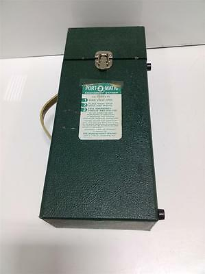 Erie Manufacturing Co. Port-o-matic Emergency Oxygen 407a42