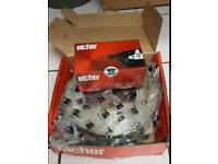 Eicher ford fusion/fiesta front discs and pads