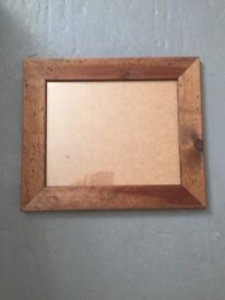 Knotted solid Wood Picture Frame