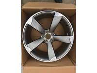 Audi A5 20 inch rotar & 255 35 20 new tyre