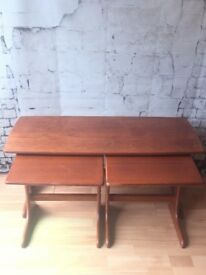 RETRO / MID-CENTURY/ G PLAN NEST OF THREE TABLES