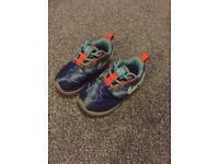 Toddler size 5.5 Nike trainers