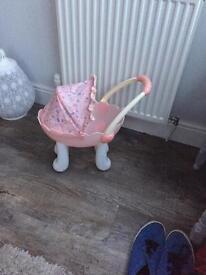 Baby to toddler toy pram free
