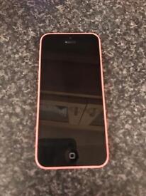 Pink iPhone 5c 8gb on Tesco