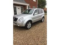 Ssangyong Rexton 2012 4x4 jeep estate