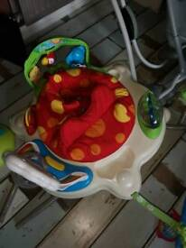 Fisher price jumperoo great condition with box