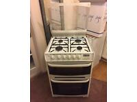 Cannon White Cooker Double Oven & Grill