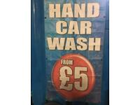 HAND CAR WASH WORKER WANTED URGENTLY .