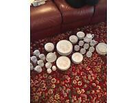 52 Piece Denby Stonewear Set - Sweet Pea Design