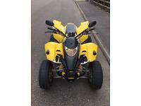 Quadzilla smc 250cc road legal 4 stroke quad DEP Pipe + extras