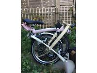 Cherry Blossom and Ivory Brompton S6L