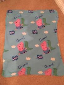 George Pig Blanket