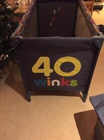 Cosatto 40 winks travel cot
