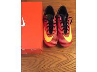 Nike football boots (boys size 5.5 uk)