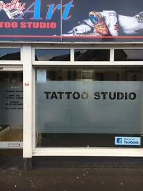 Full time professional tattoo artist required