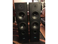 Large Stereo Loudspeakers 200 Watt made in the USA Acoustic