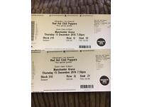 Red hot chilli pepper x 2 tickets