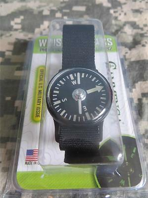 New   Cammenga Phosphorescent Wrist Compass   Black   Tactical Strap   July 2017