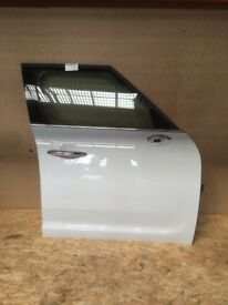 Complete Door Front Right Off Side Mini F60 Countryman Light White B15