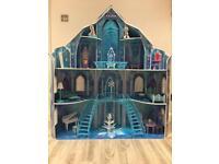 Disney Frozen Wooden Ice Castle Dolls House