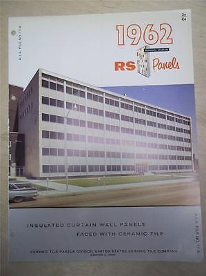 United States Ceramic Tile Co Cataloginsulated Curtain Wall Panelasbestos1962