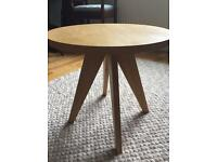 Marks and Spencer's wooden side table