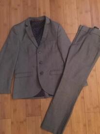 Boys age 8 Next Grey Suit