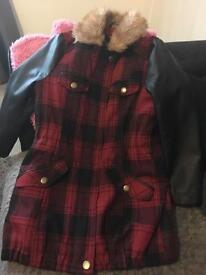 Girls coat 6-7 years