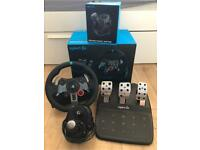 Logitech G29 Racing wheel for PS4/PS3