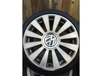 "Audi rs8 style alloys 18"" tyres multi fit"