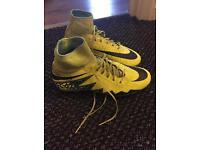 Hypervenom football sock boots