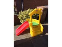 Little Tikes Junior Playhouse and Slide