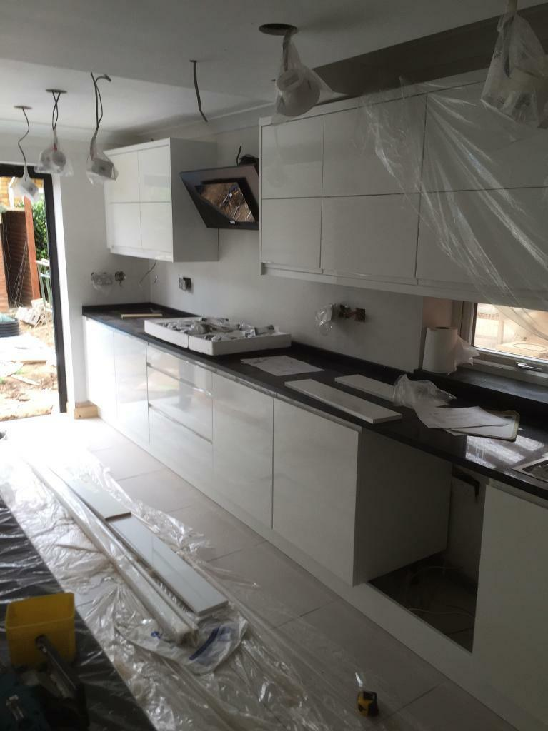 Professional kitchen fitter