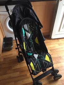 Mothercare Nanu Stroller/Buggy in Black