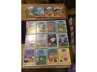 Peppa pig Dvd collection