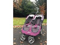 City Mini Baby Jogger - double buggy