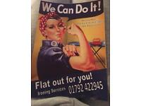 Flat out for you ironing services
