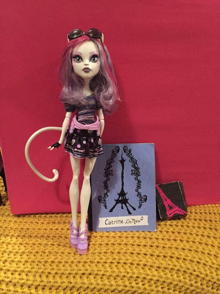 Monster High Caterine de mew doll