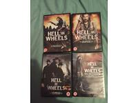 Hell on wheels 1-4 dvd