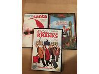 """Christmas DVD""""s"""