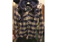 Ladies Superdry shirt/jacket