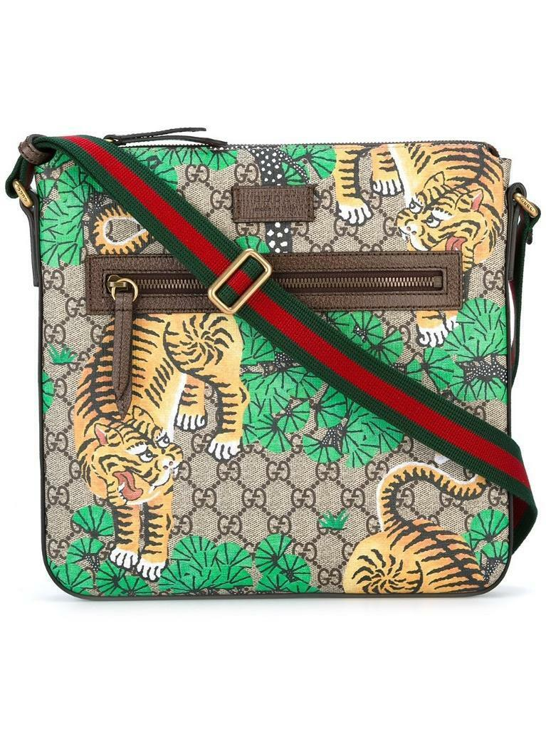 1ed7cf20e077aa Brand New GUCCI Bengal GG Supreme print messenger bag | in ...