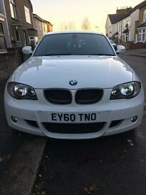 BMW 1 SERIES AUTO M SPORT DIESEL LOW MILEAGE NEW MOT