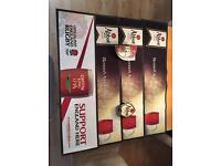 Man Cave Garage Pub Bar Brewery Breweriana Rubber Beer Mats Runners & Pump Clips Collectible