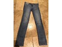 ZARA Z1975 Blue Skinny Jeans Size 10