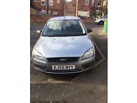 SILVER FORD FOCUS 05 PLATE FOR SALE OR SWAP