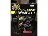 Reptiles waterfall