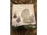 Brand new Tent light with fan
